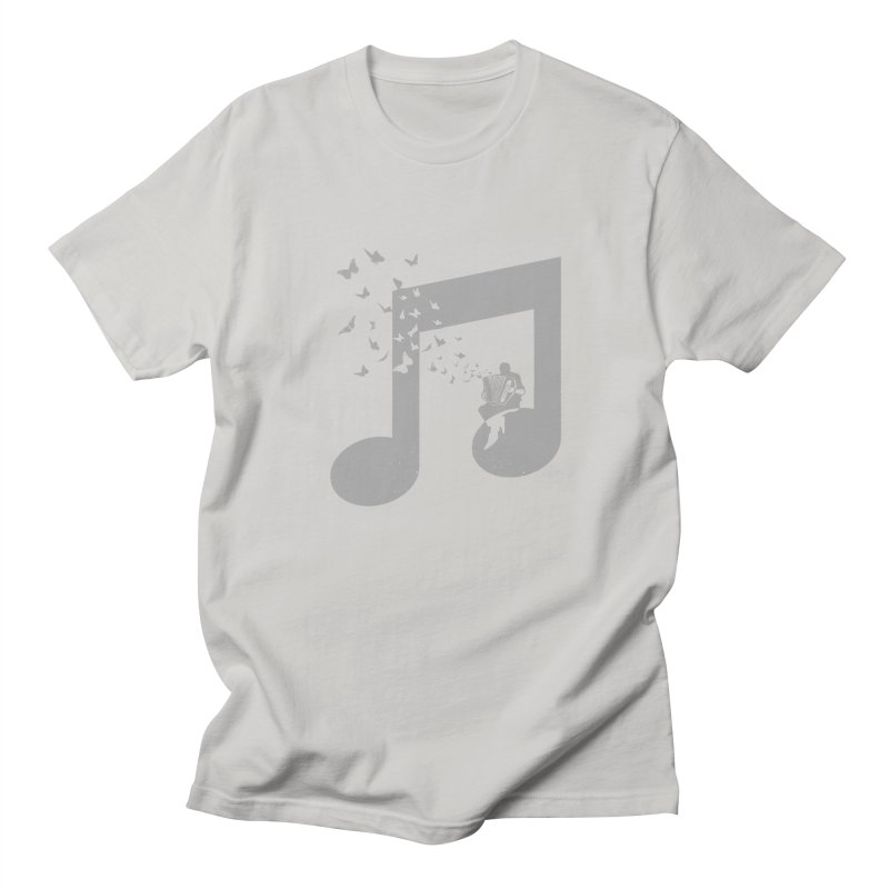 Accordion Butterfly Men's T-Shirt by barmalisiRTB