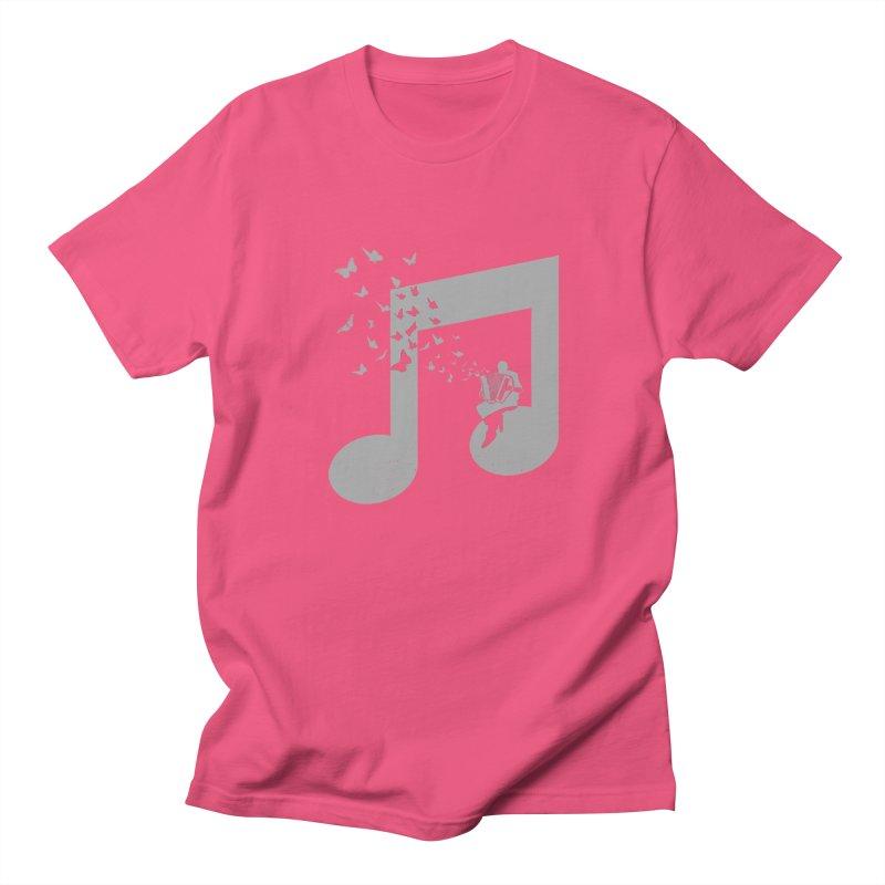 Accordion Butterfly Women's Regular Unisex T-Shirt by barmalisiRTB