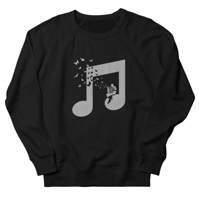 Accordion Butterfly Men's French Terry Sweatshirt by barmalisiRTB