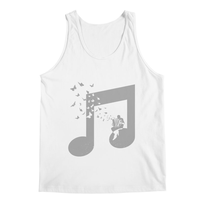 Accordion Butterfly Men's Regular Tank by barmalisiRTB