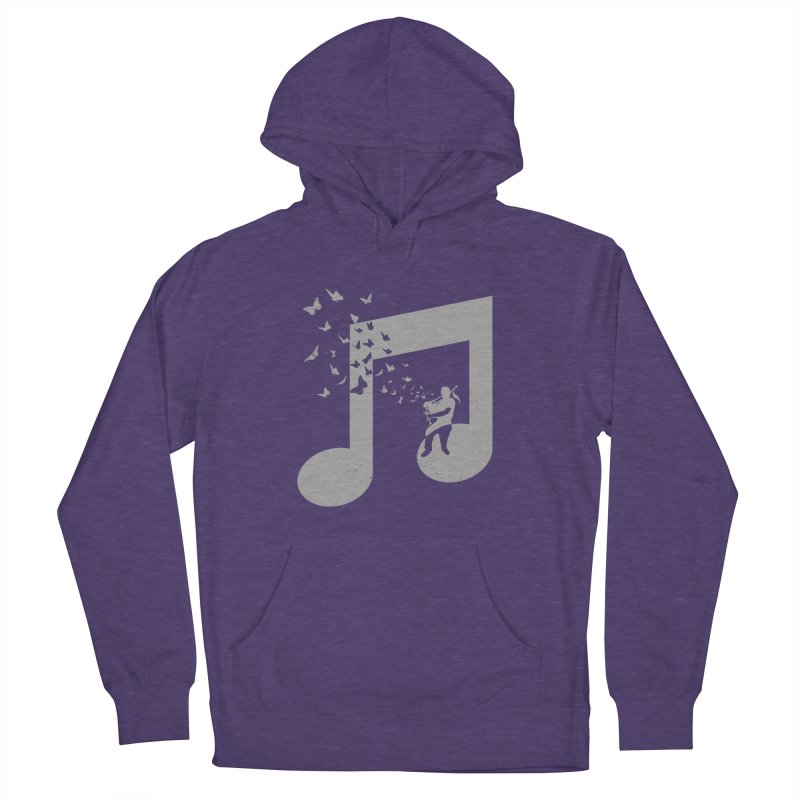 Bagpipes Butterfly Men's French Terry Pullover Hoody by barmalisiRTB