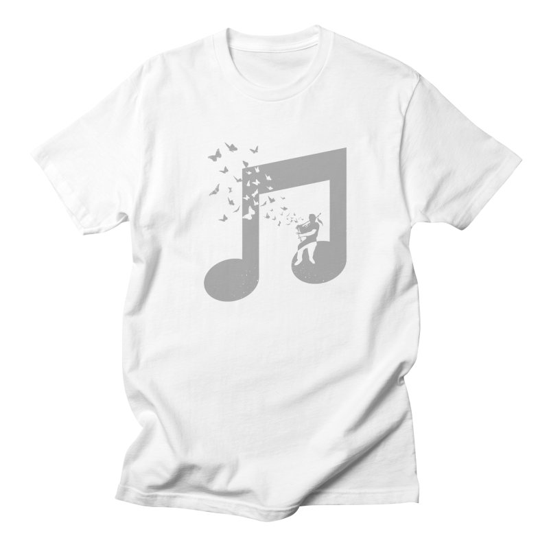 Bagpipes Butterfly Men's T-Shirt by barmalisiRTB