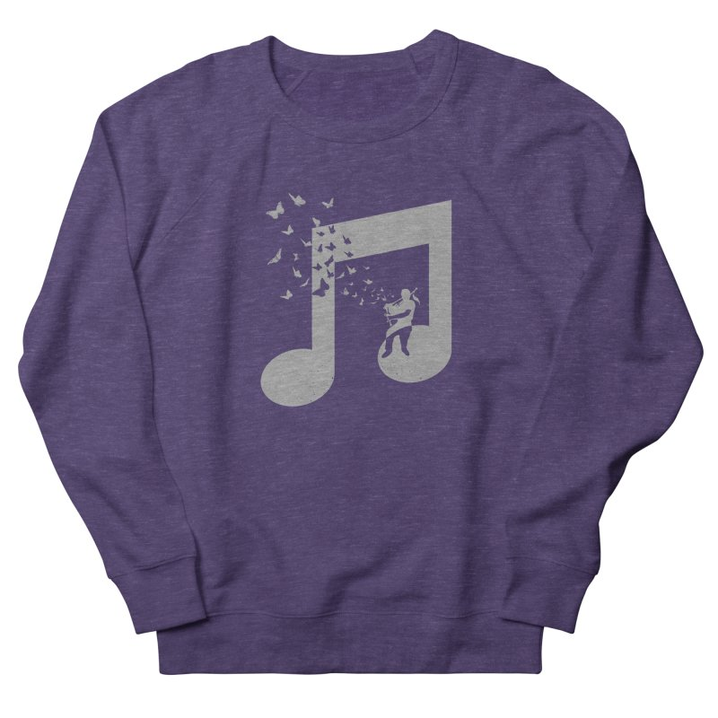 Bagpipes Butterfly Women's French Terry Sweatshirt by barmalisiRTB