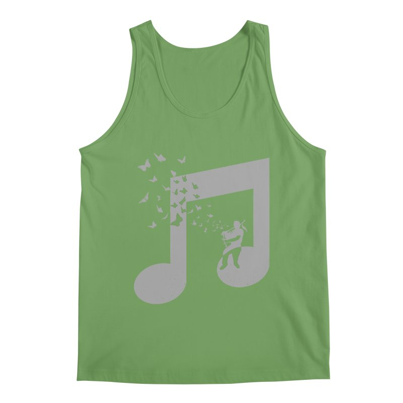Bagpipes Butterfly Men's Tank by barmalisiRTB
