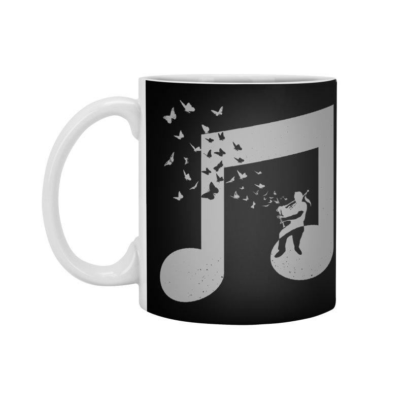 Bagpipes Butterfly Accessories Standard Mug by barmalisiRTB