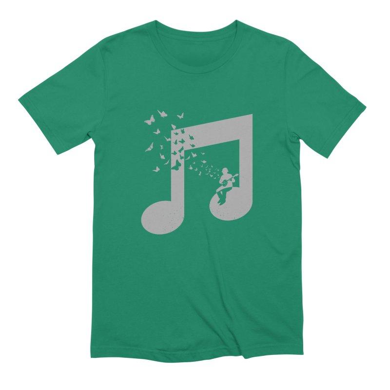 Banjo Music Men's Extra Soft T-Shirt by barmalisiRTB