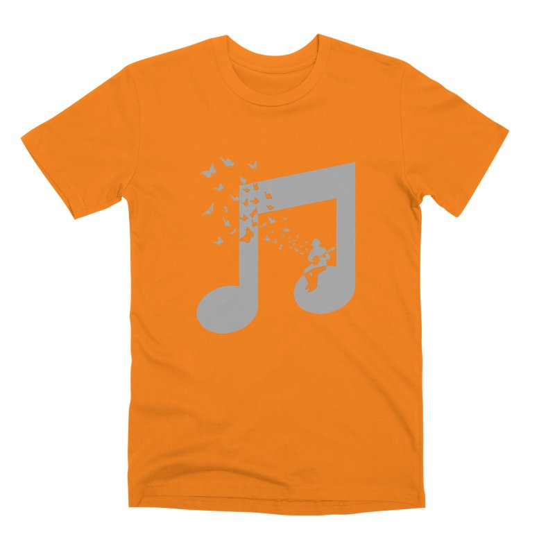 Banjo Music Men's T-Shirt by barmalisiRTB