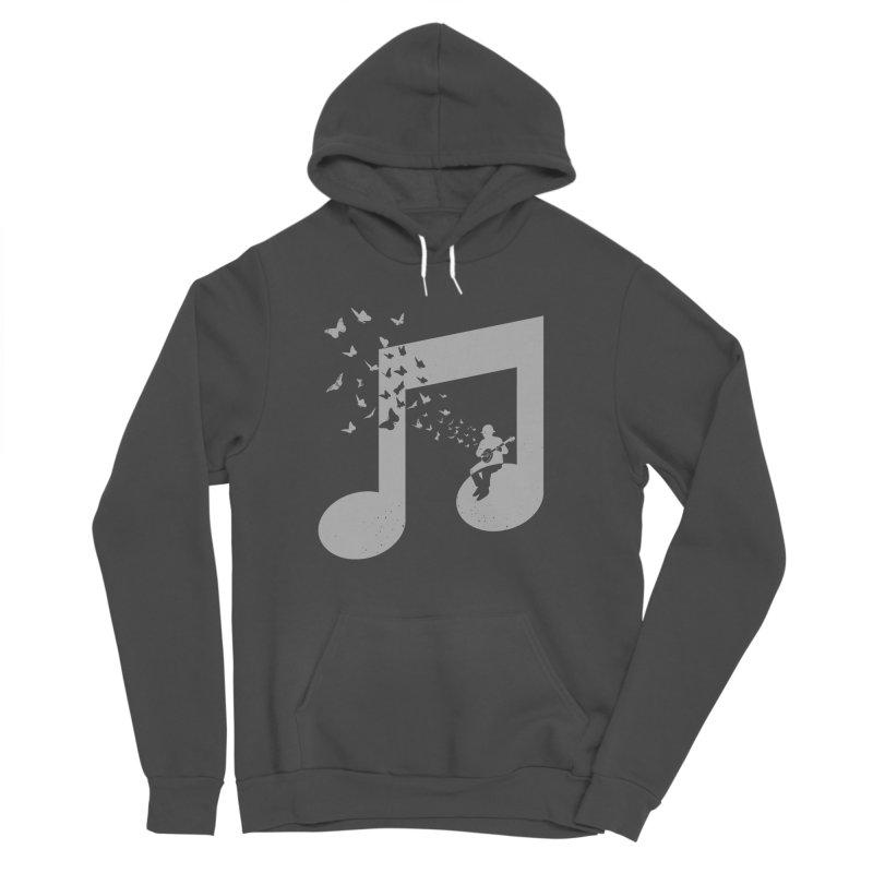 Banjo Music Men's Sponge Fleece Pullover Hoody by barmalisiRTB