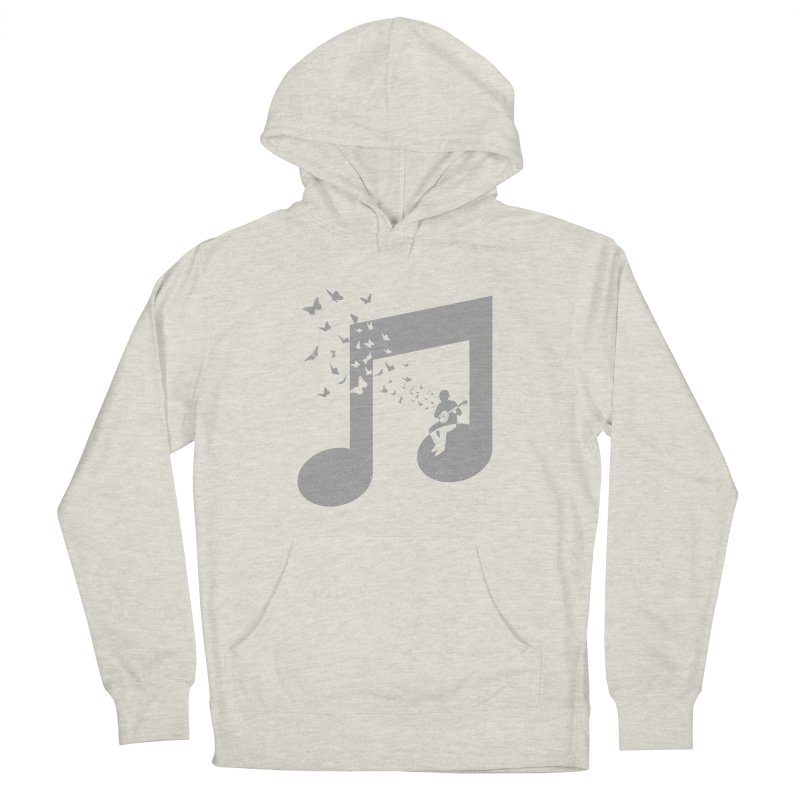 Banjo Music Women's French Terry Pullover Hoody by barmalisiRTB