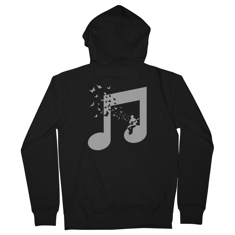 Banjo Music Men's French Terry Zip-Up Hoody by barmalisiRTB