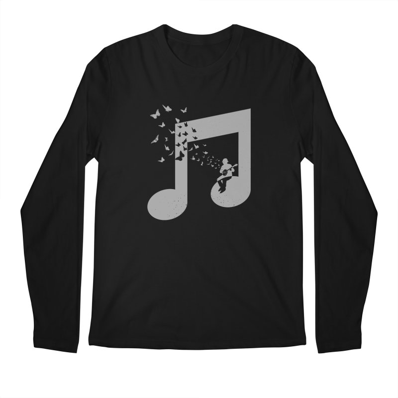 Banjo Music Men's Regular Longsleeve T-Shirt by barmalisiRTB