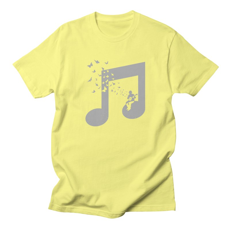 Banjo Music Men's Regular T-Shirt by barmalisiRTB