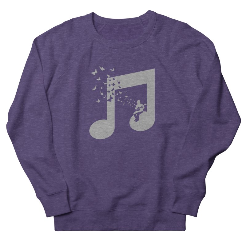 Banjo Music Women's French Terry Sweatshirt by barmalisiRTB