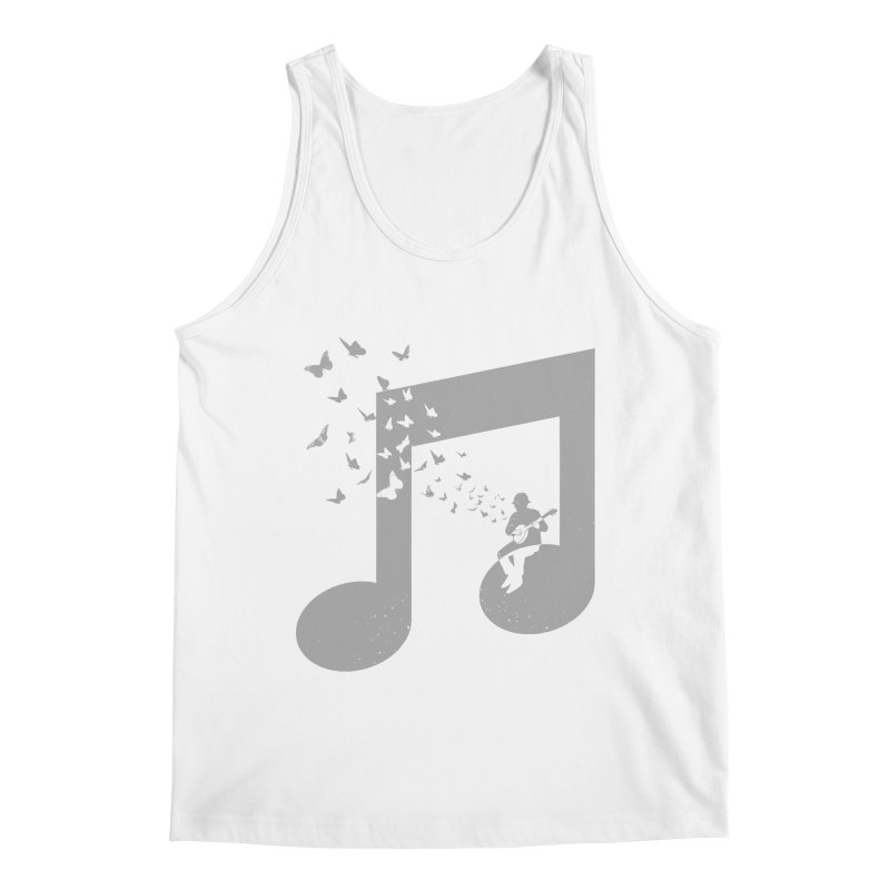 Banjo Music Men's Regular Tank by barmalisiRTB