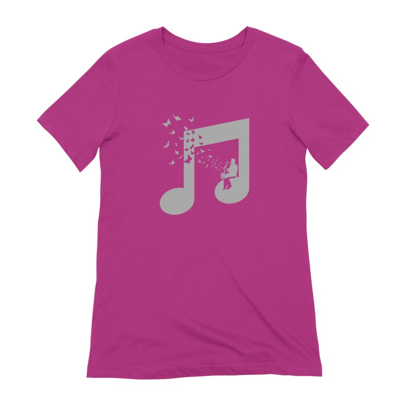 Bass Clarinet Music Women's Extra Soft T-Shirt by barmalisiRTB