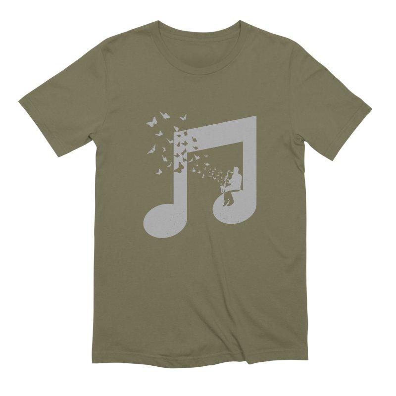 Bass Clarinet Music Men's Extra Soft T-Shirt by barmalisiRTB