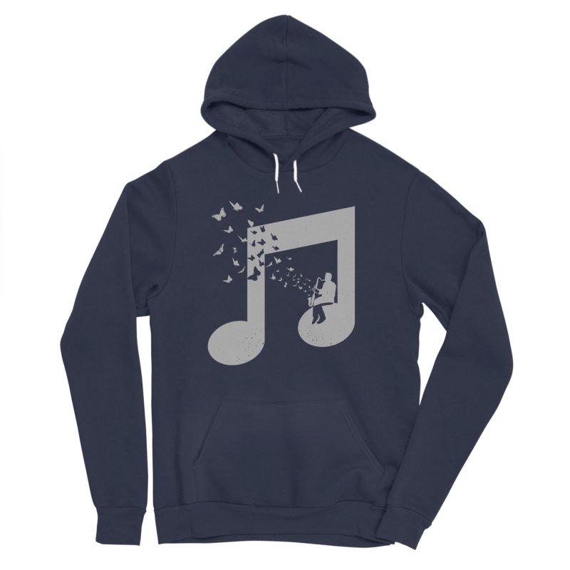 Bass Clarinet Music Men's Sponge Fleece Pullover Hoody by barmalisiRTB