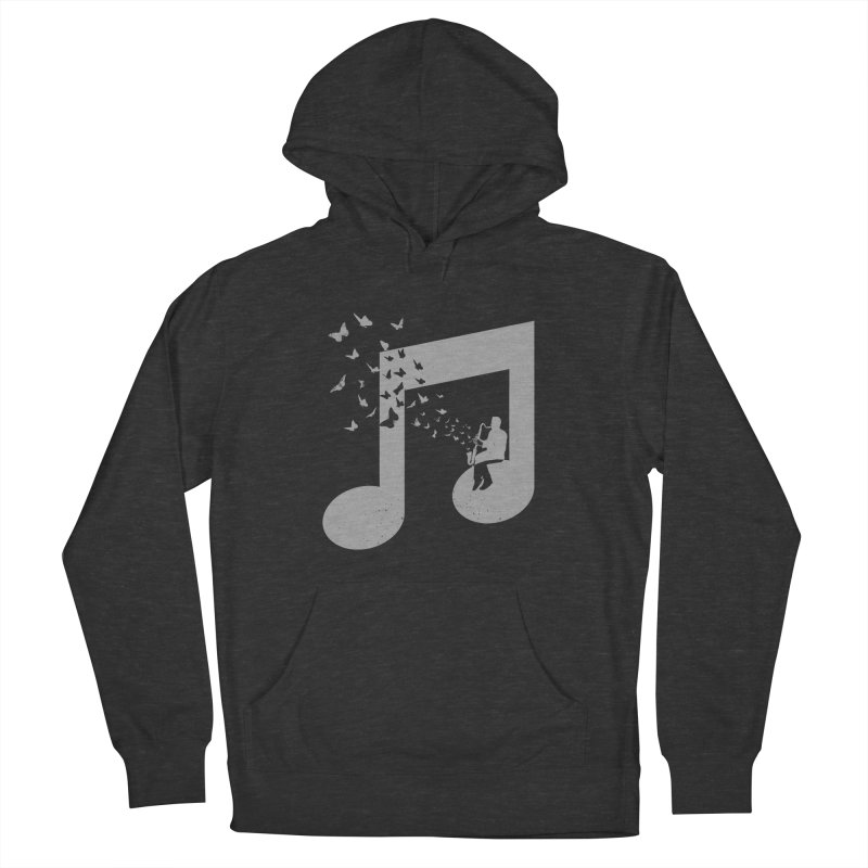 Bass Clarinet Music Women's French Terry Pullover Hoody by barmalisiRTB