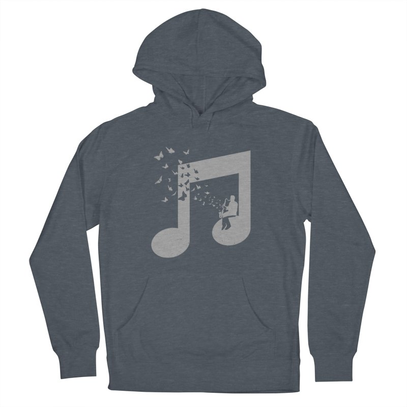 Bass Clarinet Music Men's French Terry Pullover Hoody by barmalisiRTB