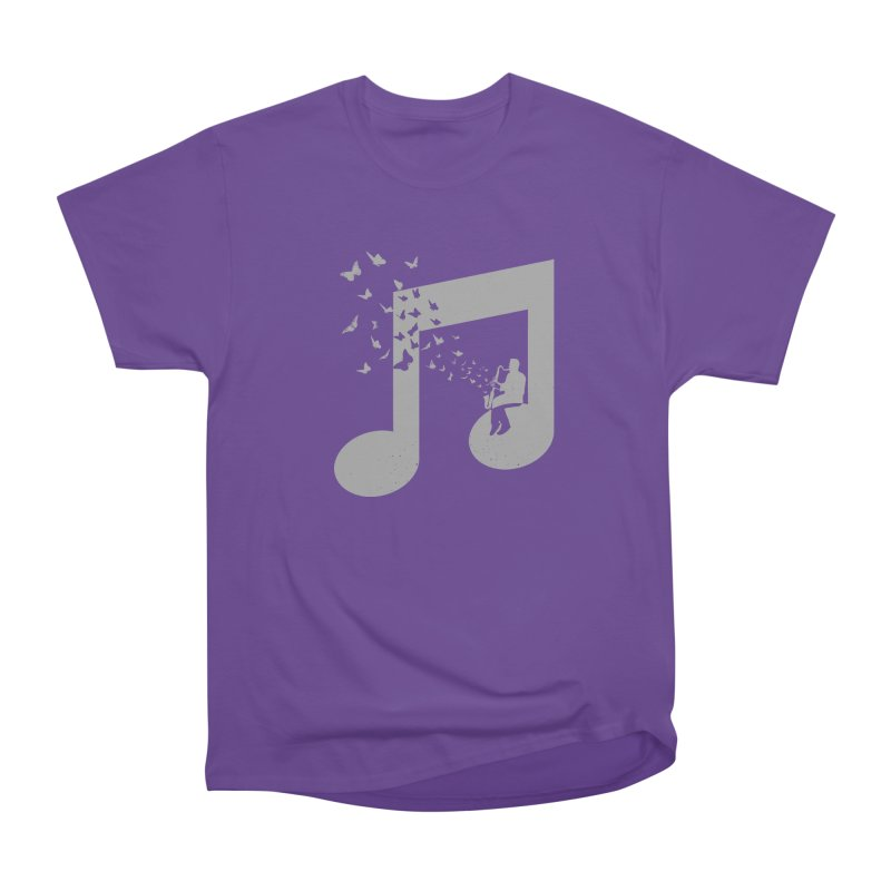 Bass Clarinet Music Men's Heavyweight T-Shirt by barmalisiRTB
