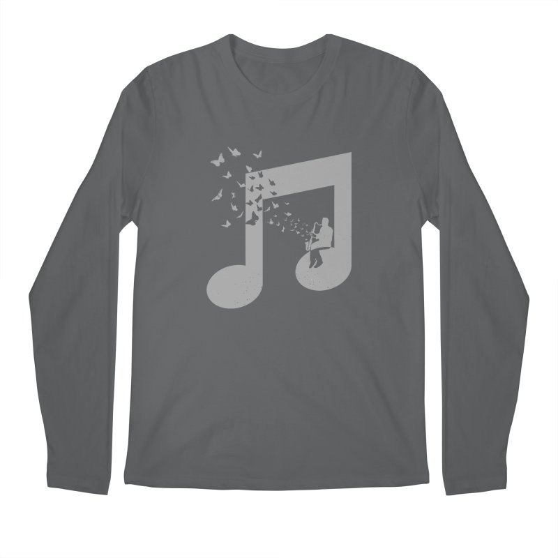Bass Clarinet Music Men's Regular Longsleeve T-Shirt by barmalisiRTB
