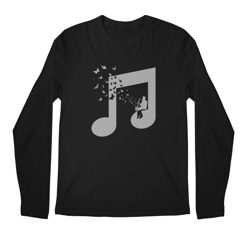 Bass Clarinet Music Men's Regular Longsleeve T-Shirt by barmalisiRTB