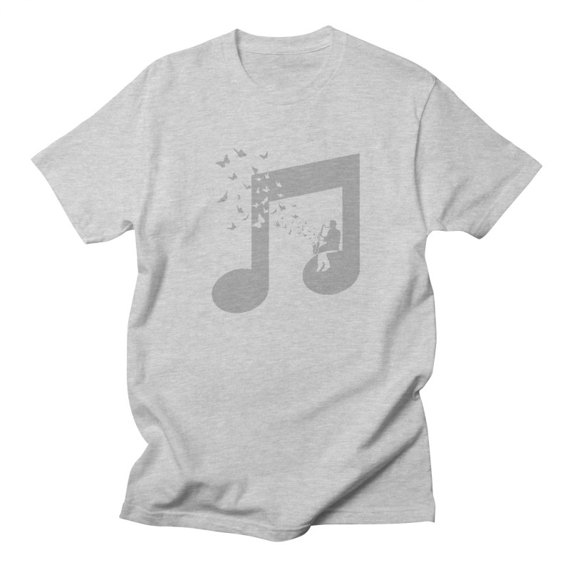 Bass Clarinet Music Men's Regular T-Shirt by barmalisiRTB