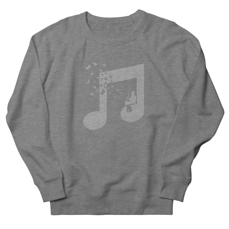Bass Clarinet Music Women's French Terry Sweatshirt by barmalisiRTB