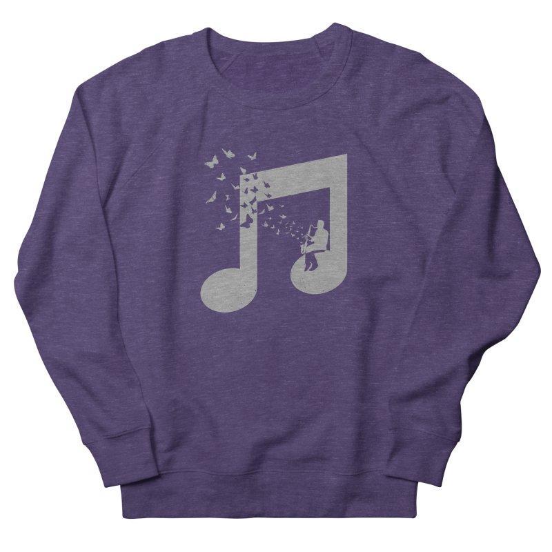 Bass Clarinet Music Men's French Terry Sweatshirt by barmalisiRTB