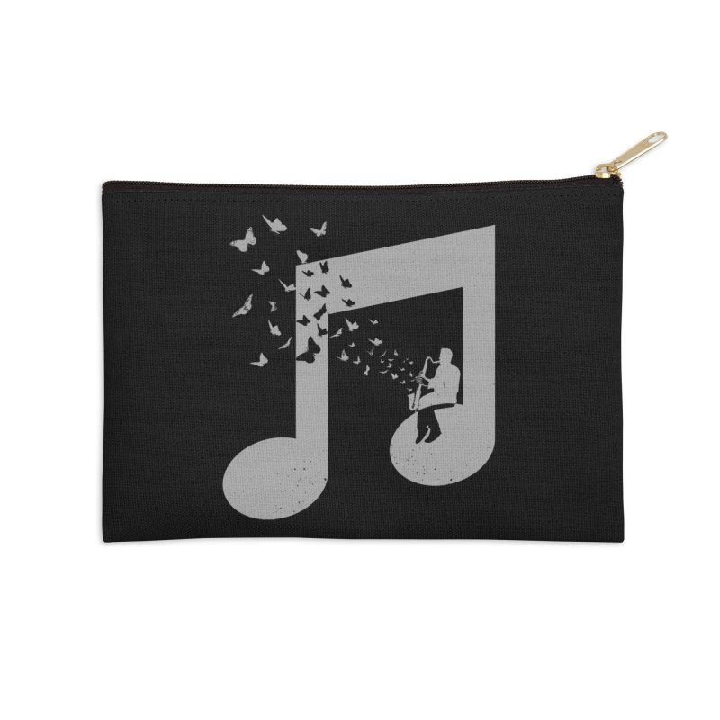 Bass Clarinet Music Accessories Zip Pouch by barmalisiRTB