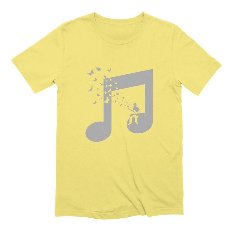 Bass Guitar Butterfly Men's T-Shirt by barmalisiRTB
