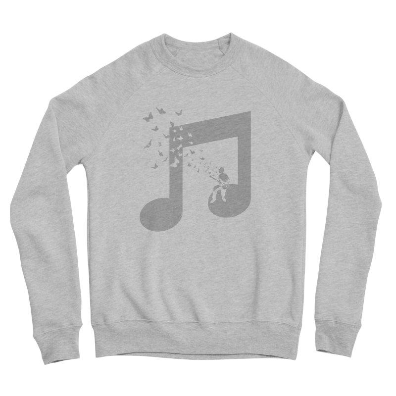 Bass Guitar Butterfly Women's Sponge Fleece Sweatshirt by barmalisiRTB