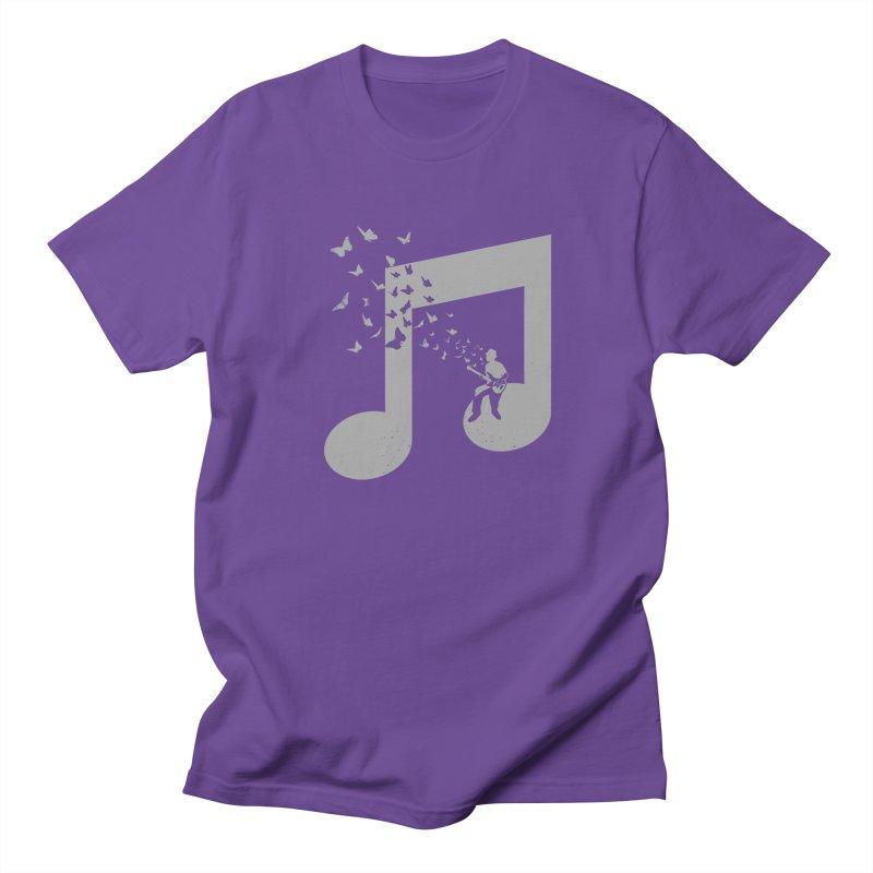 Bass Guitar Butterfly Men's T-Shirt by barmalisiRTB