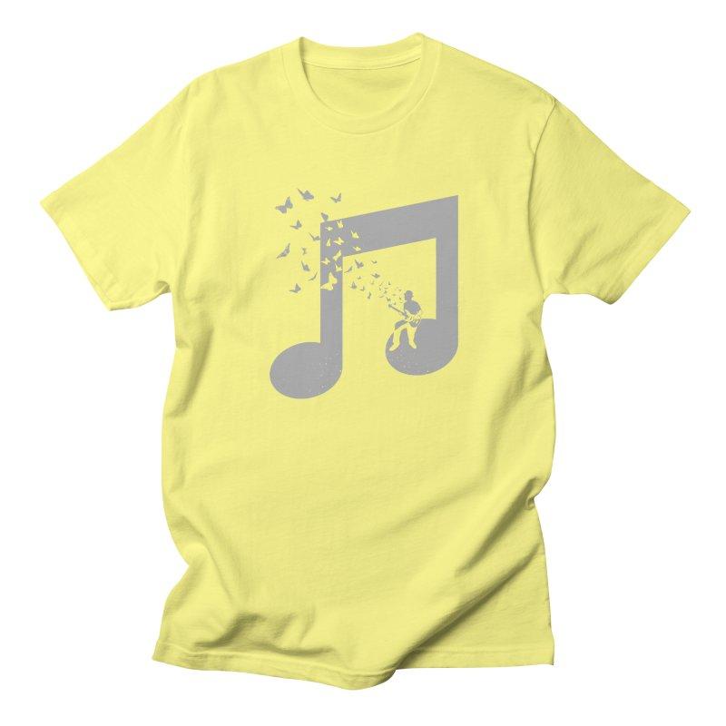 Bass Guitar Butterfly Women's Regular Unisex T-Shirt by barmalisiRTB