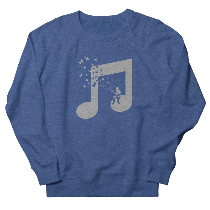 Bass Guitar Butterfly Men's Sweatshirt by barmalisiRTB