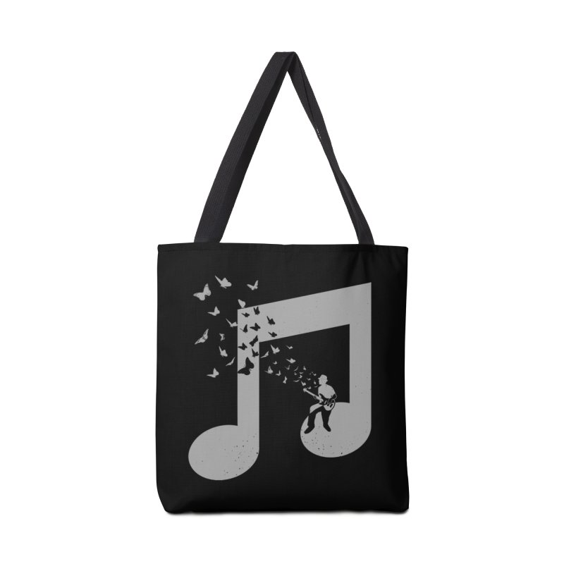 Bass Guitar Butterfly Accessories Tote Bag Bag by barmalisiRTB