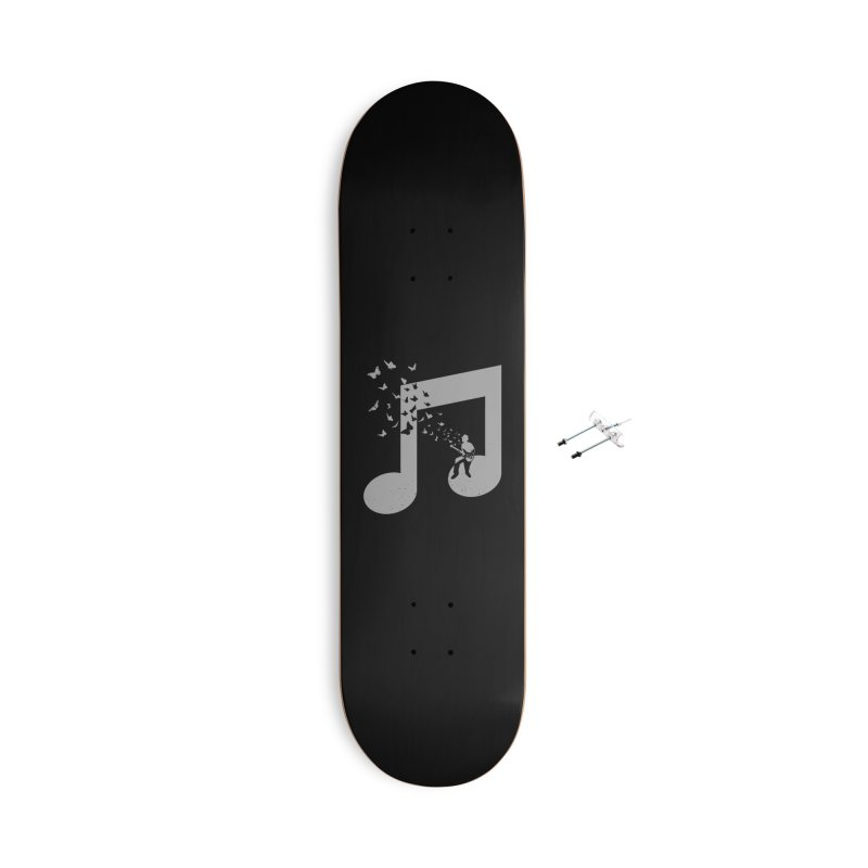 Bass Guitar Butterfly Accessories With Hanging Hardware Skateboard by barmalisiRTB