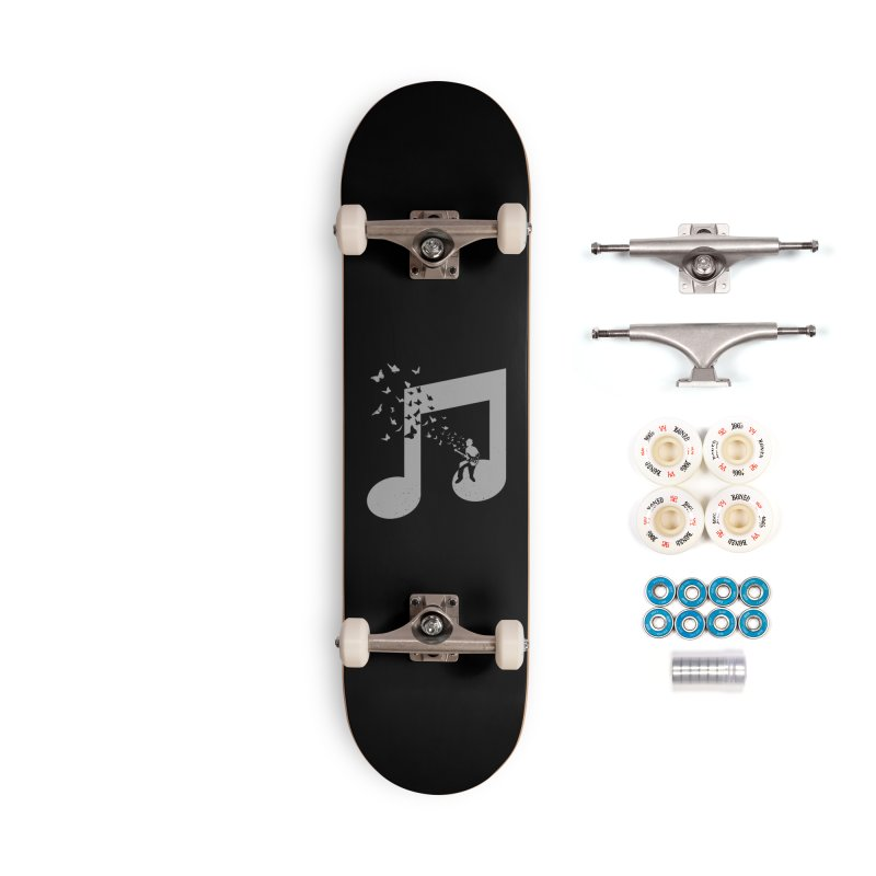 Bass Guitar Butterfly Accessories Complete - Premium Skateboard by barmalisiRTB
