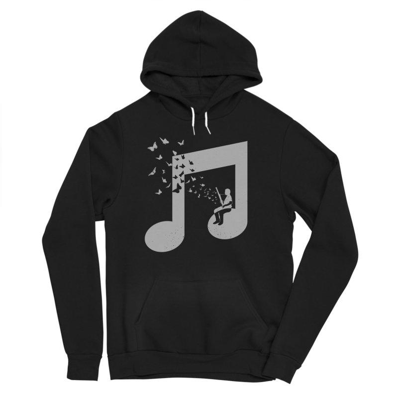 Bassoon Music Men's Sponge Fleece Pullover Hoody by barmalisiRTB