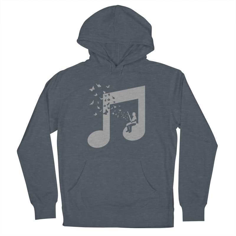Bassoon Music Men's French Terry Pullover Hoody by barmalisiRTB