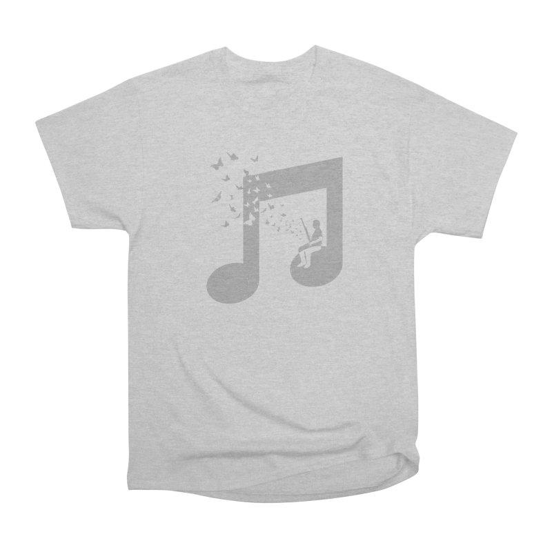 Bassoon Music Men's Heavyweight T-Shirt by barmalisiRTB