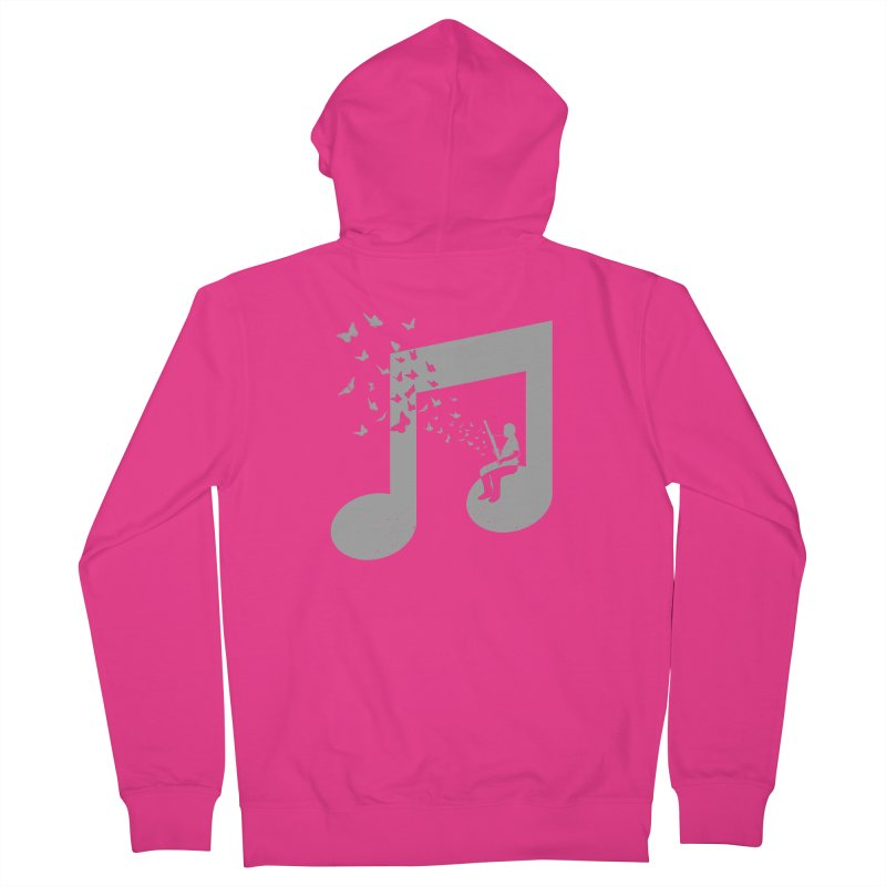Bassoon Music Men's French Terry Zip-Up Hoody by barmalisiRTB