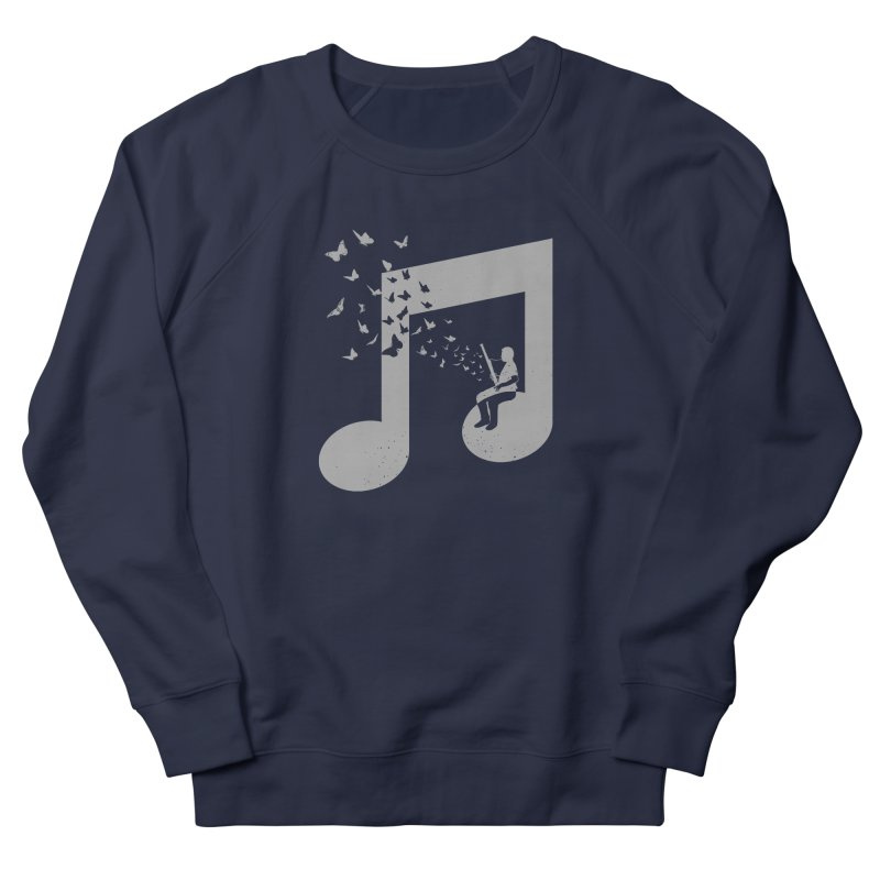 Bassoon Music Men's French Terry Sweatshirt by barmalisiRTB