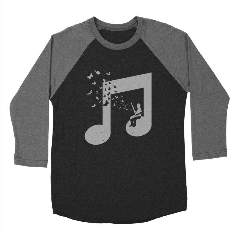 Bassoon Music Men's Baseball Triblend Longsleeve T-Shirt by barmalisiRTB