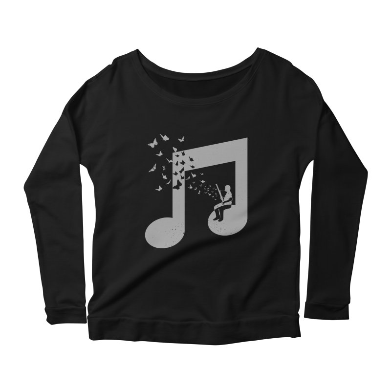 Bassoon Music Women's Scoop Neck Longsleeve T-Shirt by barmalisiRTB
