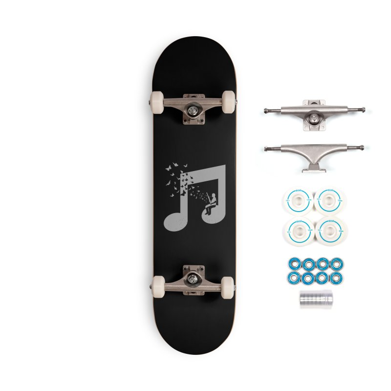 Bassoon Music Accessories Complete - Basic Skateboard by barmalisiRTB