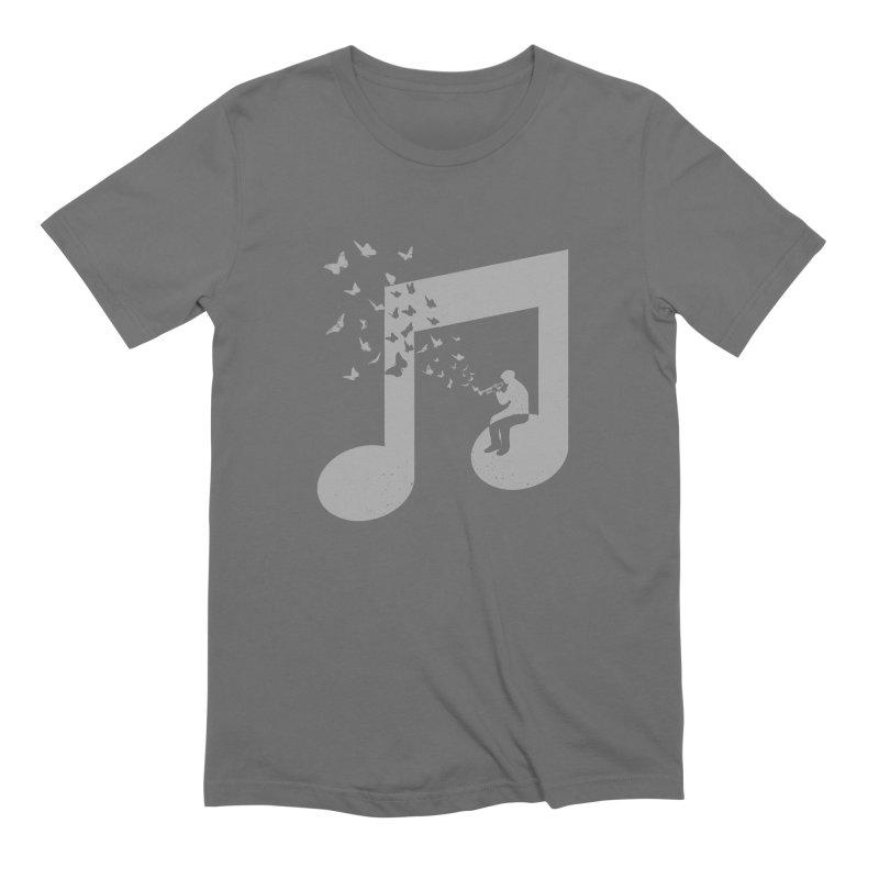 Bugle Music Men's Extra Soft T-Shirt by barmalisiRTB