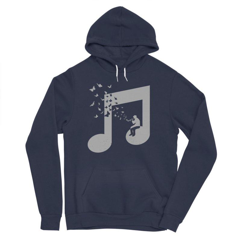Bugle Music Men's Sponge Fleece Pullover Hoody by barmalisiRTB