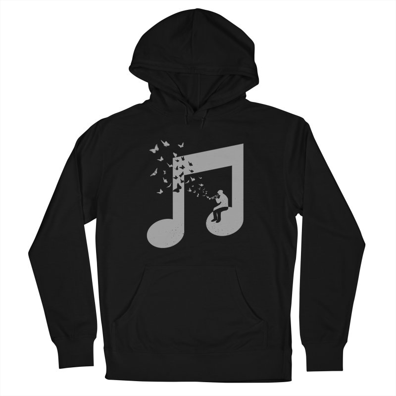 Bugle Music Women's French Terry Pullover Hoody by barmalisiRTB