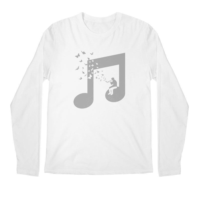 Bugle Music Men's Regular Longsleeve T-Shirt by barmalisiRTB